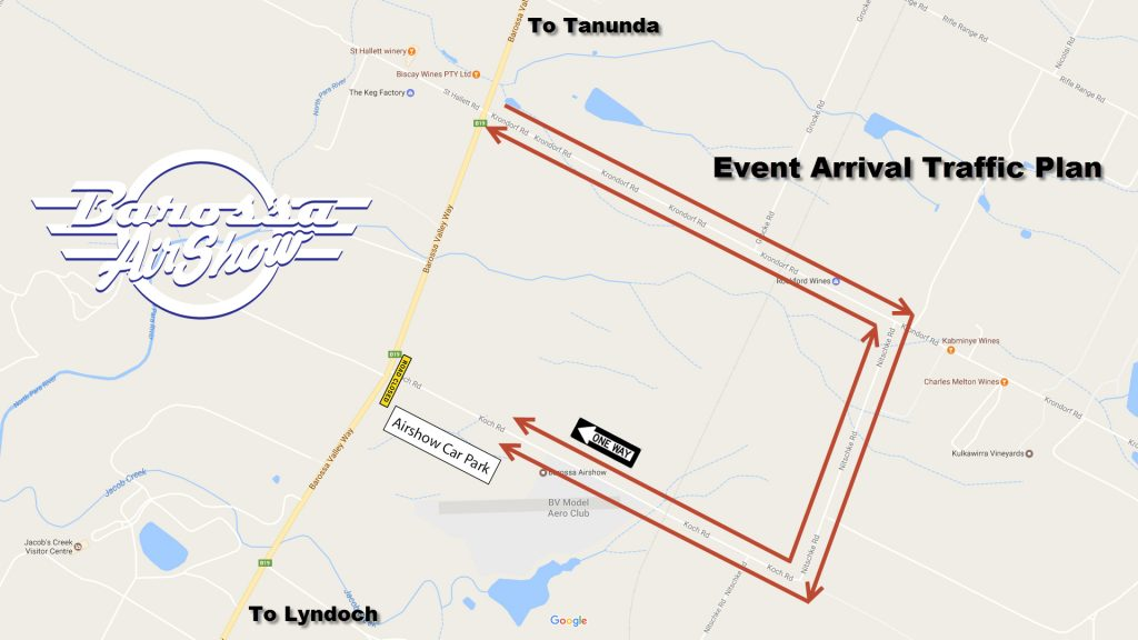 Event-arrival-traffic-plan-barossa-air-show